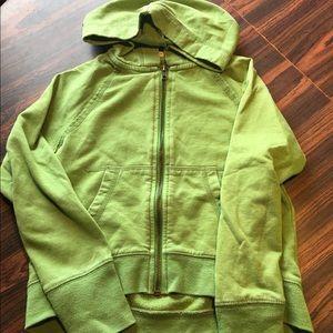 Girls zip up hoodie